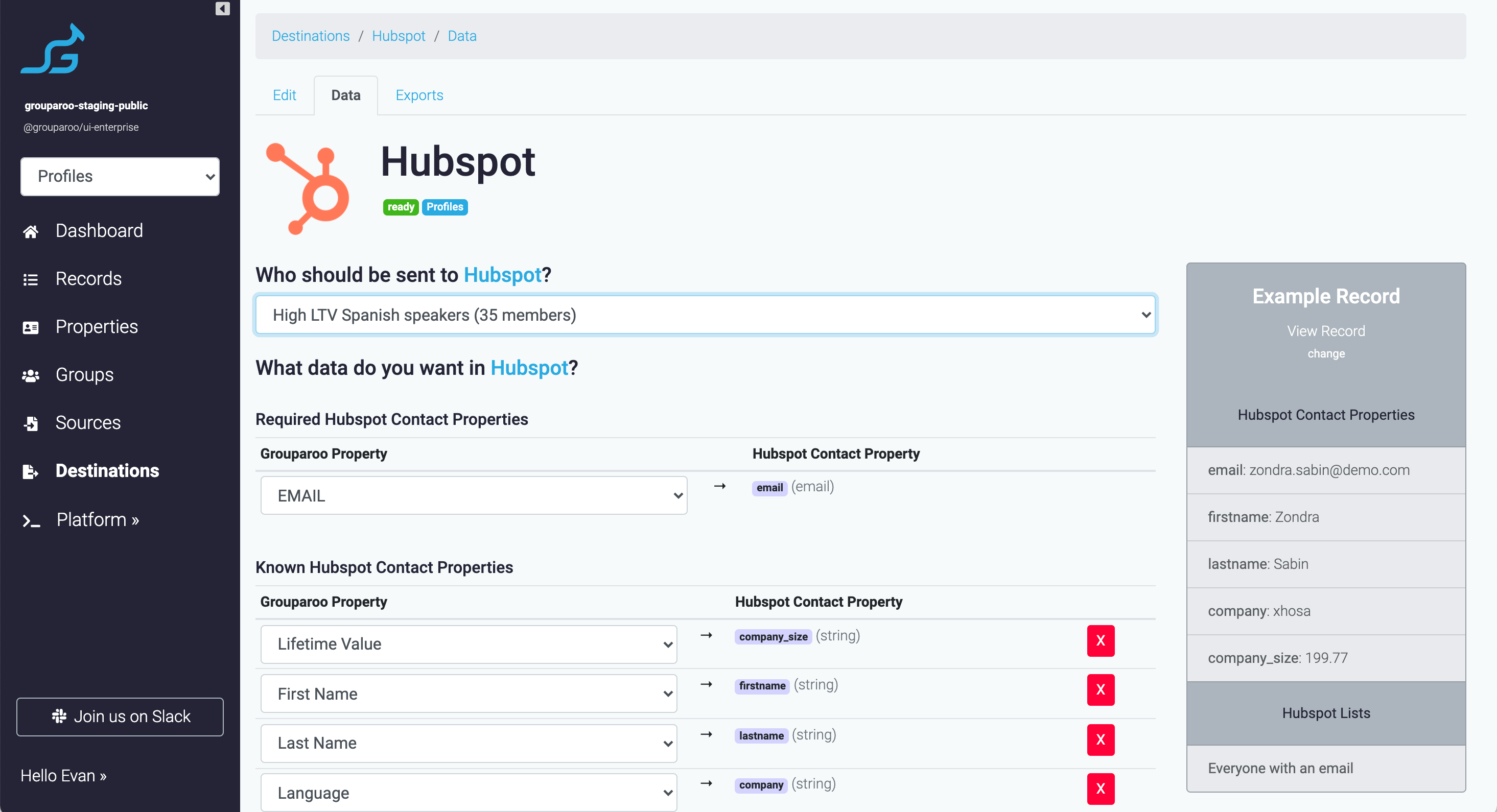 Connect your customer profiles to all your SaaS tools