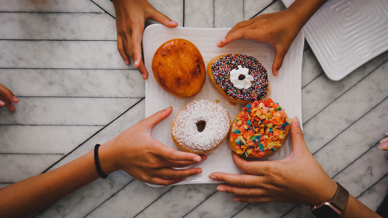 Pull doughnuts